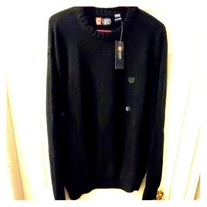 Men's Tall Size XL Chaps 100% Cotton Crew Neck.